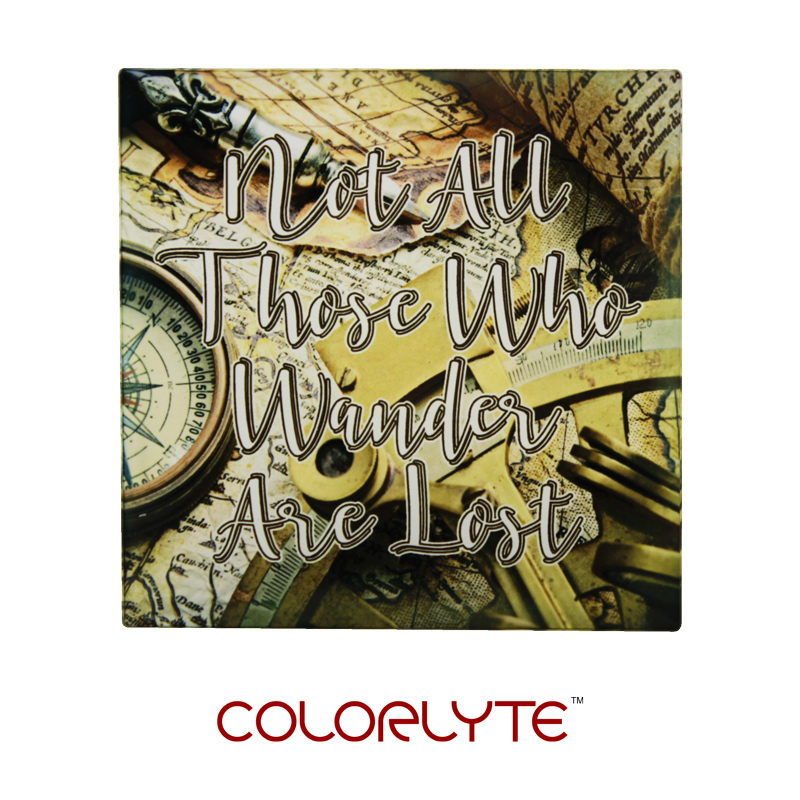 3.8125x3.125 ColorLyte® Square Acrylic Coaster