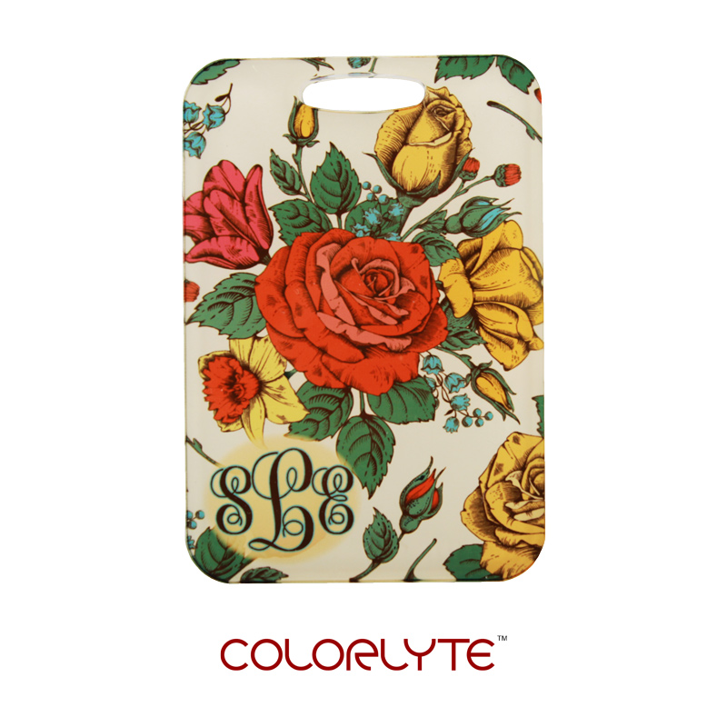 ColorLyte Sublimation Blank Acrylic Bag Tag - 2.75 x 4