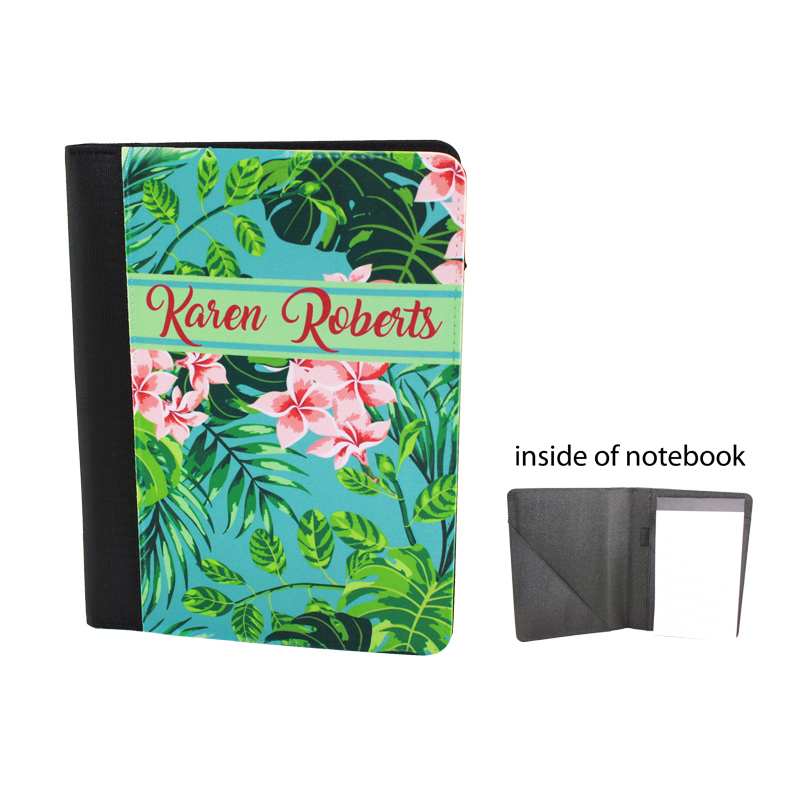 7x9 DyeTrans® Medium Sublimation Blank Notebook - Microfibre