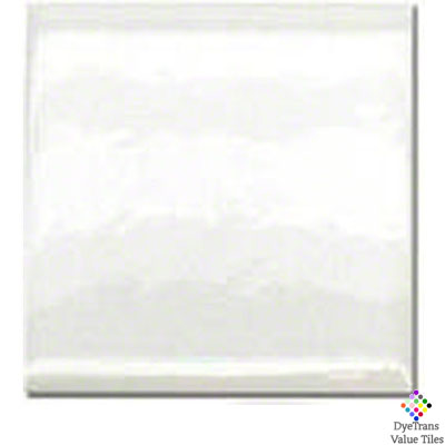 12x12 Gloss DyeTrans™ Value Tile - Gloss White