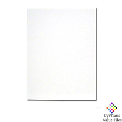 6x8 DyeTrans™ Value Tile - White Gloss