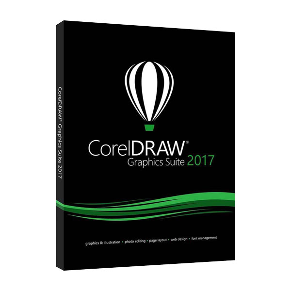 CorelDRAW Graphics Suite 2017 Full OEM Version CD