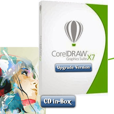 CorelDRAW® X4 to X7 Upgrade CD Boxed Set