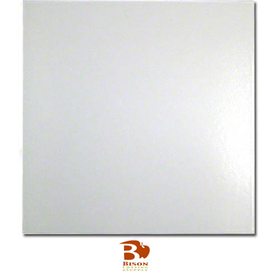 12X12 Bison® Ceramic Tile - Satin White