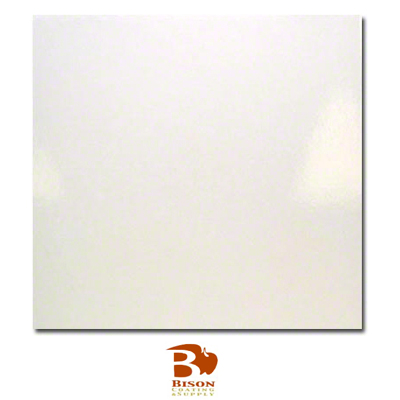 12x12 Bison® Ceramic Tile - Gloss White
