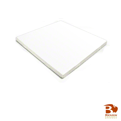 8x8 Bison® Tile - Satin White