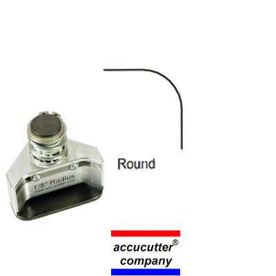 Round Die, 1/8 Die for the accucutter® CM40