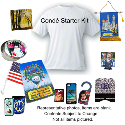 Conde Starter Kit - Blank Items for Sublimation