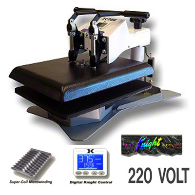 DK20S Swing Away Digital Heat Press - 220v