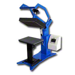 George Knight® DK8 Label Heat Press with 3 Tables