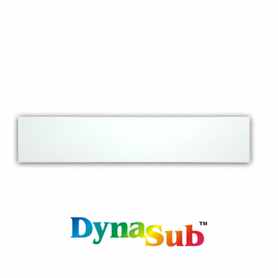 DynaSub Sublimation Blank Aluminum Desk Name Plate Holder Insert - 2