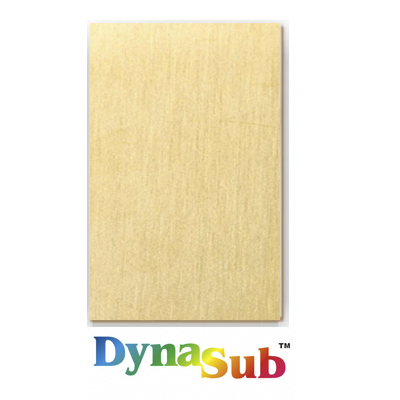 24x12 DynaSub® Aluminum Sheet Stock - Satin Gold
