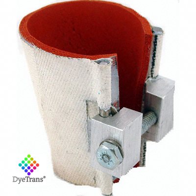 DyeTrans® Shot Glass Dye Wrap  for Oven Imaging