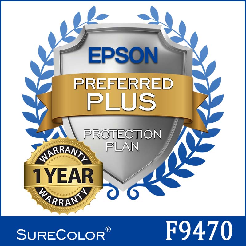 Epson® F9470 Extended Service Plan - 1 Year