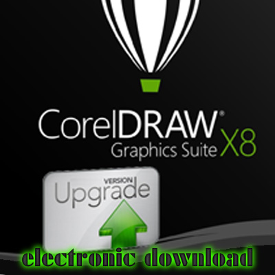 CorelDRAW Graphics Suite X8 Electronic Upgrade