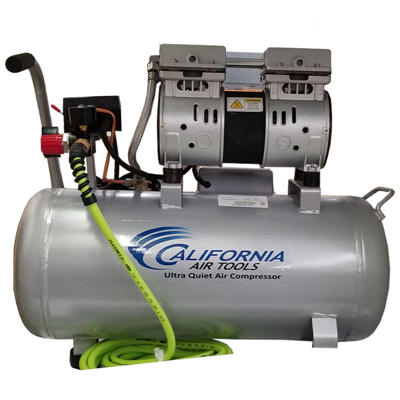 Ultra-Quiet Silent Air Compressor by California Air Tools - 8 gal