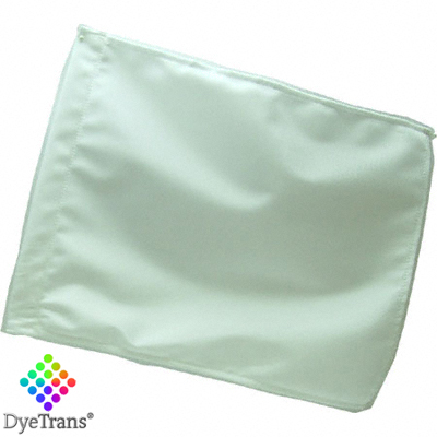 DyeTrans Sublimation Blank Car Flag - 11 x 15 - Double-Ply - No Pole