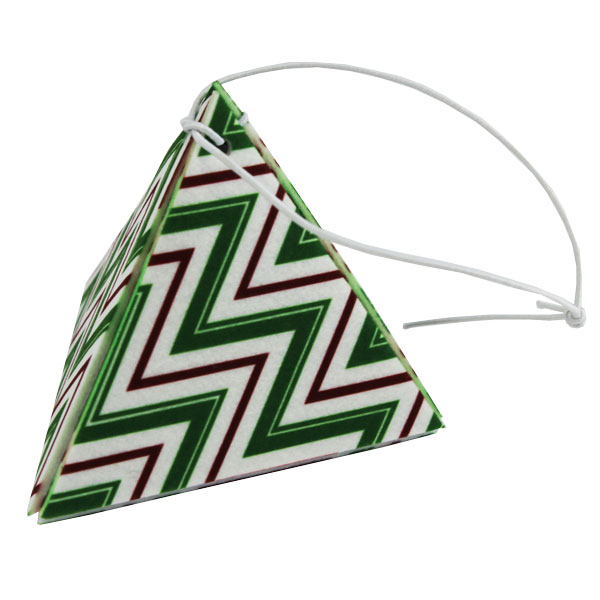 Sublimation Blank 3D Felt Ornament - Triangle - 3.25""