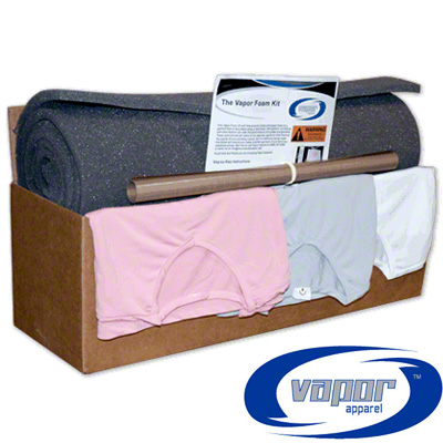Vapor Apparel® Foam Production Kit with Teflon