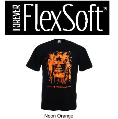 8.5x11 Forever Flex Soft No Cut - Neon Orange