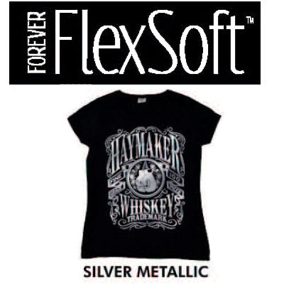 8.5x11 Forever Flex Soft No Cut - Metallic Silver