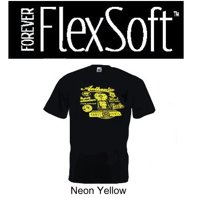 8.5x11 Forever Flex Soft No Cut - Neon Yellow