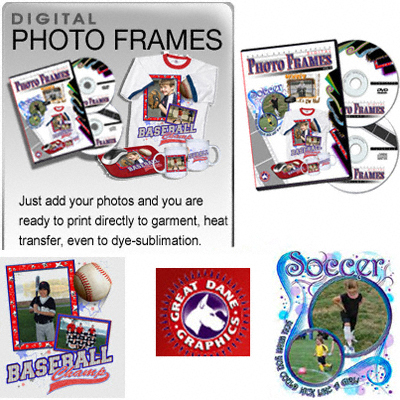 Great Dane Graphics Photo Frames Templates Vol 1