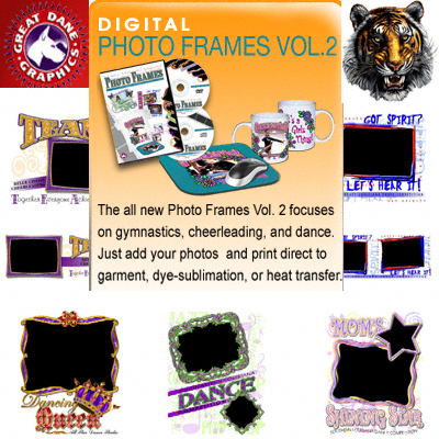 Great Dane Graphics Photo Frames Templates Vol 2