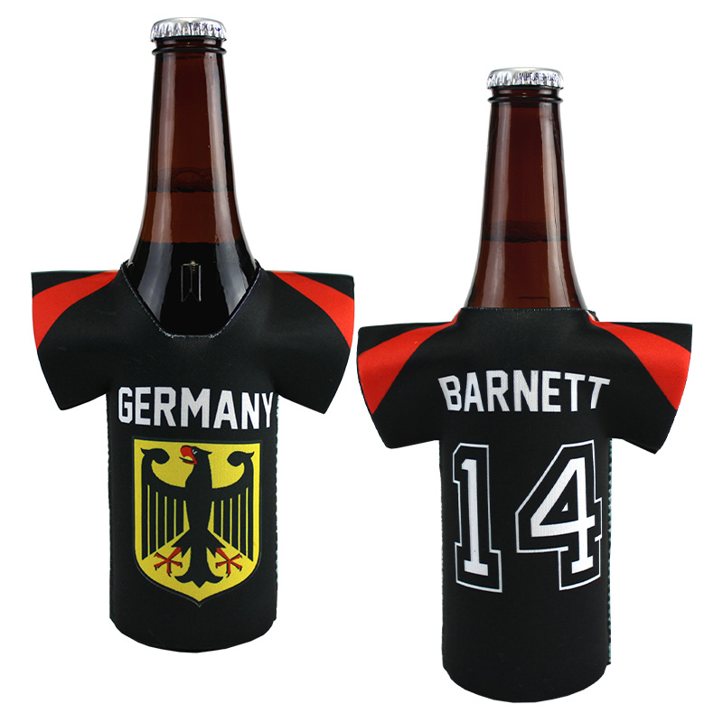 DyeTrans Sublimation Blank Neoprene Slip-On Jersey Bottle Hugger - Fits 12oz Bottle
