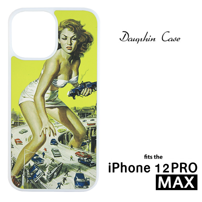 iPhone® 12/12 Pro Max Dauphin™ Sublimation Blank Rubber Case - White w/ Aluminum Insert