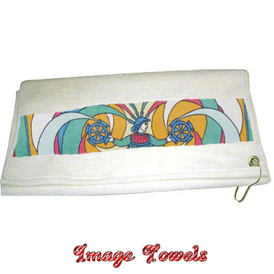 13x18 Image Towel with Grommet and Spring Clip