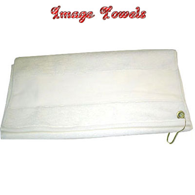 15.5x27.5 Image Towel with Grommet and Spring Clip