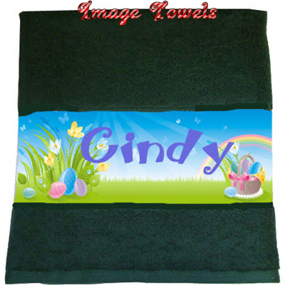 Sublimation 28x50 Image® Towel - Dark Green