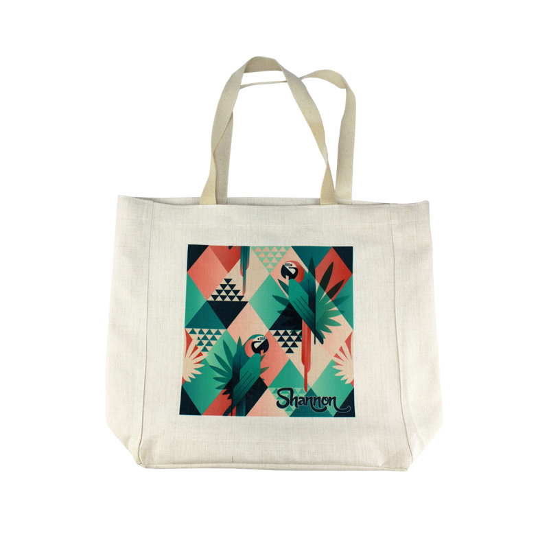 15x15 PolyLinen™ Shopping Bag
