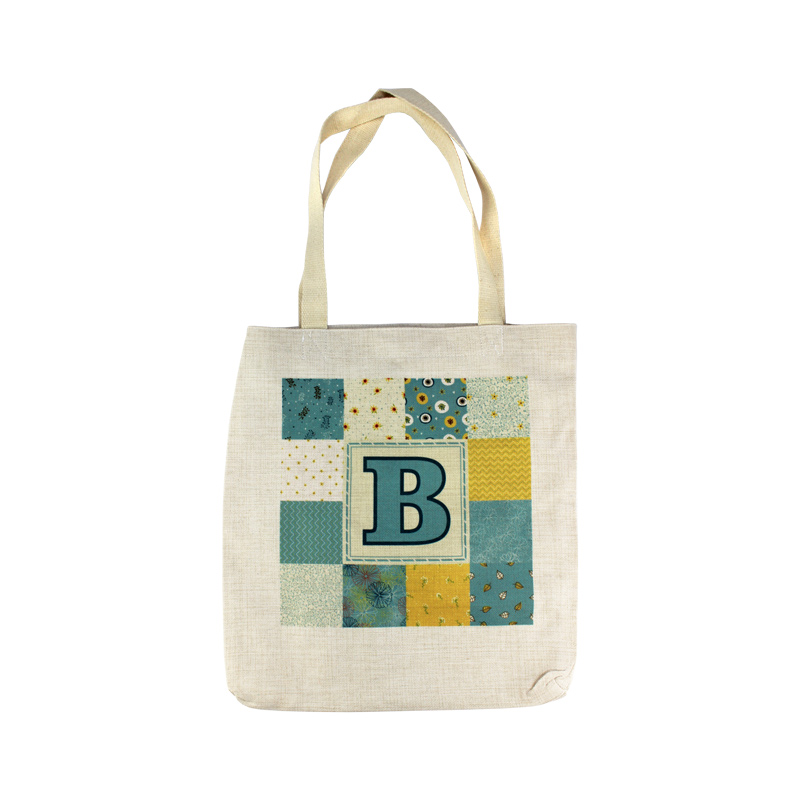 DyeTrans Sublimation Blank Linen Tote Bag - 14.5