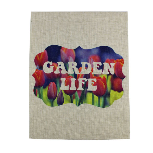 Sublimation Blank SubliLinen™ Garden Flag - Large - 2 Sided - 2 Pack