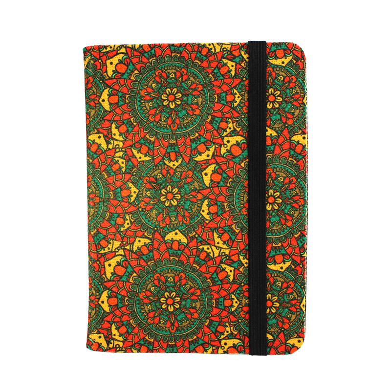 Sublimation Blank SubliLinen Covered Notebook - 6.5 x 5
