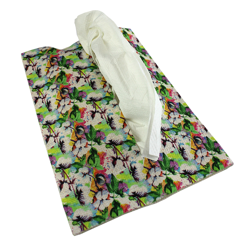 Sublimation Blank SubliLinen Tissue Holder - Personal Size