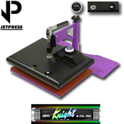 9x12 JP12 George Knight® Hobby Heat Press - 110v