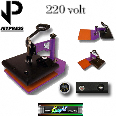 12x14 JP14 George Knight® Hobby Heat Press - 220v