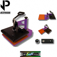 12x14 JP14 George Knight® Hobby Heat Press - 110v
