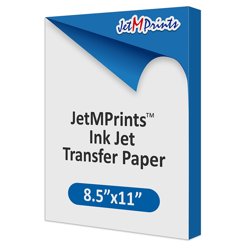 JetMPrints Inkjet Transfer Paper - 8.5