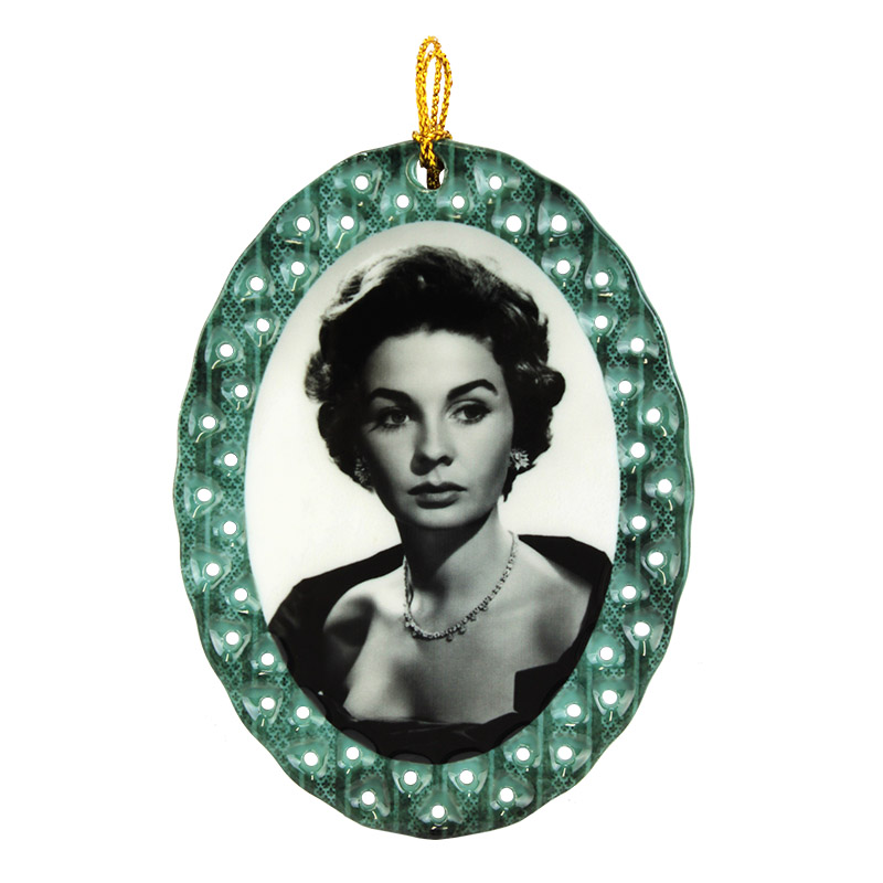 Sublimation Blank Porcelain Ornament - Oval Shape - Gloss White