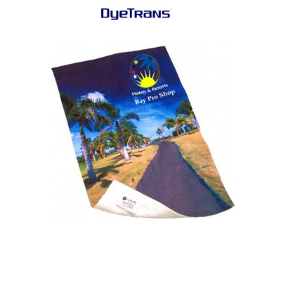 DyeTrans® Sublimation Blank High Pile Medium Towel, White, 16