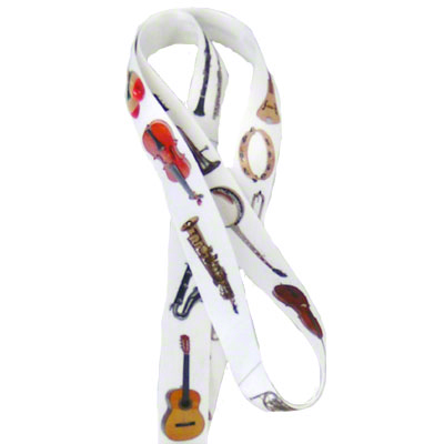 DyeTrans Sublimation Blank Lanyard Material Pre-Cut - .75