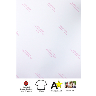 8.5x11 LASER-FlexCL Transfer Paper -100 sheet pack