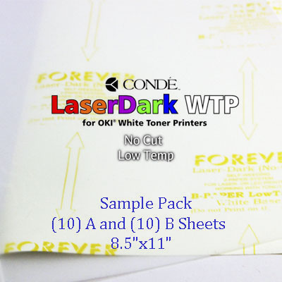 Forever Laser Dark No-Cut Low Temp Transfer Paper - 8.5