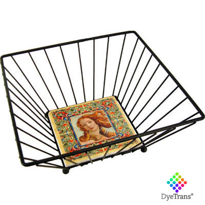 DyeTrans® Wrought Iron Basket -Medium for 6 Tile