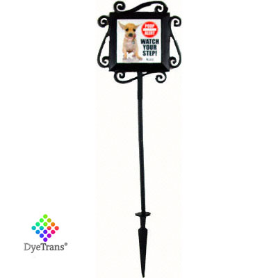 DyeTrans Wrought Iron Garden Stake for Select 4