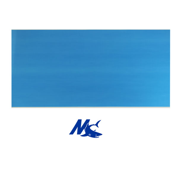 Mako™ Sublimation Blank Aluminum Sheet Stock - 24 x 12 - Gloss White - 1 Sided